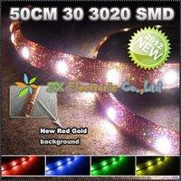 2шт/lot + автомобиль smd привело полосы света 5m 150 rgb 5050 полосы цвета строб вспышки с дистанционного управления
