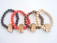 Min Order $10 Hot sale  Fashion Bracelet Beads Wooden SWAG Bracelets