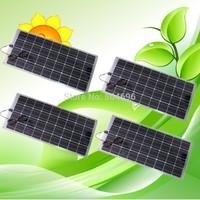 4 x 100W Semi-Flexible solar panels panel for car boat varavan CE, total 400w