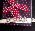 Free shipping blingbling dog collar with beautiful charms, rhinestone buckle wholesale and retail dropping shipping