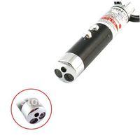Laser Pointer 2 LED Keychain Light Torch Flashlight 40061