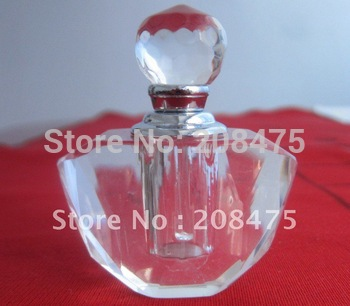 Beautiful Crystal perfume bottle,crystal oil bottle with free shipping via DHL,UPS,Fedex
