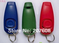Free shipping * * 20pcs/lot * * Dog Pet Click Clicker Training Trainer Aid whistle
