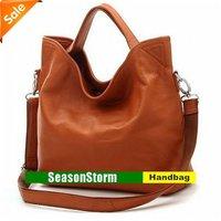 [CPA Free Shipping] Retail Brand New Fashion Womens Cow Leather Dual-function Handbag (SG-02)