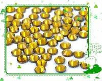 SS30 Crystal Hot Fix Rhinestones DMC Flatback Stone 6.4-6.6MM TOPAZ color Free Shipping