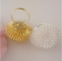 Min Order $20 (mixed order) Retail Fashion 2 Color Fancy Dandelion Shape Finger Ring / Gift Ring Jewelry  (SW-10)