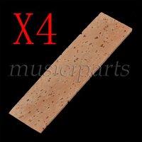 4pcs Natural Clarinet Neck Cork Sheet 2mm Bb Clarinet Joint Cork Clarinet Neck Cork FREESHIPPING