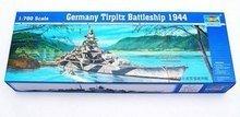 Trumpeter 05712 1/700 German Tirpitz 1944 Battleship(China (Mainland))