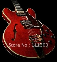 Musical Instruments Fashion Guitar Custom 355 crimson  Hole body Electric Guitar