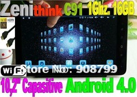 "10.2"" Zenithink ZT280 C91 Android 4.0 Tablet PC Capacitive Screen 1GB RAM Cortex A9 16GB (FREE SHIPPING)"
