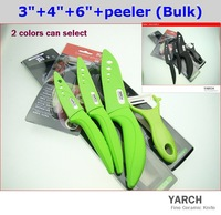 "YARCH 3""  Fruit Vegetable Black Blade ceramic knife with Scabbard + retail box , ABS handle.1PCS/lot , CE FDA certified"