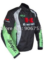 2012 New Arrival Kawasaki motorcycle racing jacket waterproof windproofhjkerth