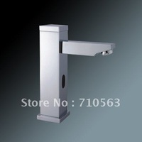 Free Shipping - Automatic Touchless Chrome Sensor Faucet - Wholesale (S1007)