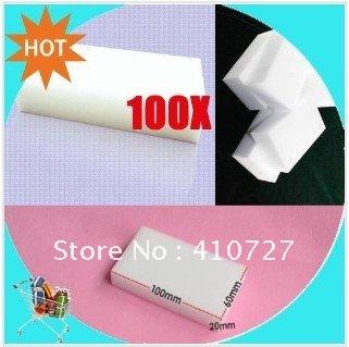 Free Shipping Magic Sponge Eraser Melamine Cleaner,multi-functional Cleaning 100x60x20mm(China (Mainland))