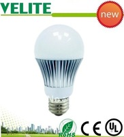 freeshipping high lumens  High power CE/RoHS 7*1w Warm white/cool white LED bulb for home
