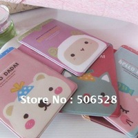 Free Shipping 24Pcs/Lot Lovely PVC Cartoon Card Case;Card Holder;Office Gift;Girl Gift