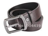 Brand New men's genuine 100% leather belt 2 colors
