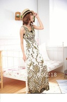 #1117  2012 dress  long sleeve dress, Silk  cocktail chiffon dresses new fashion