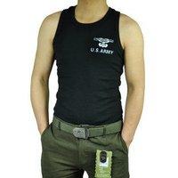Brand;Free Knight Men Strong Elastic Vest Cotton Tight Breathable Vest Color:Black/Green Size:L XL XXL