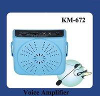 DHL Free Shipping  Portable Voice Amplifier Speaker Megaphone KM-672