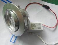 3*1W LED high power ceiling light,down light;AC85-265V input