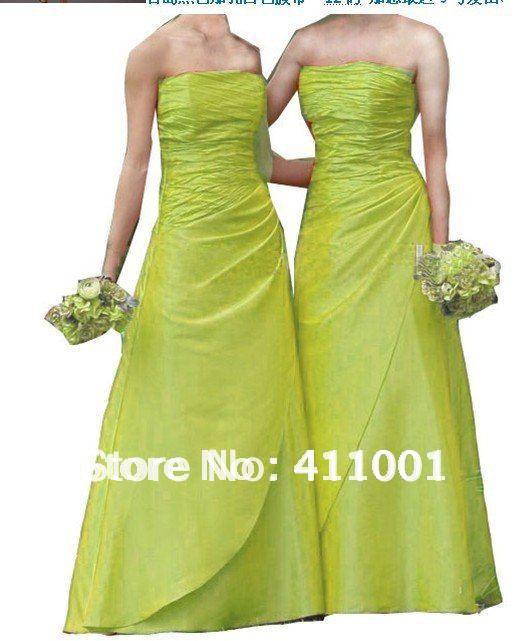 Short Lime Green Prom Dress