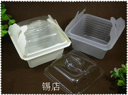 Reuse PP material plastic Food Cake cookie boxes Cupcake favour packaging boxes 150pcs/lot(China (Mainland))