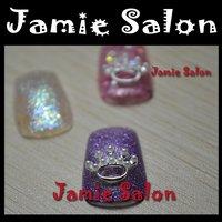 Lovely Shiny Alloy Metal Rhinestones Nail Art Decorations Cute Design  #D53