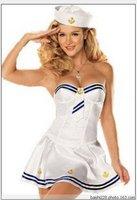 Free Shipping Sexy Navy uniform costume