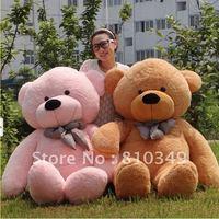 Hot Sale!!!High-Quantity,63''(160cm) yellow Teddy Bear,free shippiing +Gift