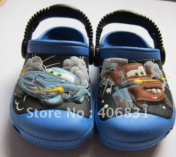 2012 Boy children Sandals/slippers Shoes Size  6C7-12C13/RED/Blue