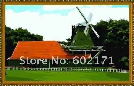 Groothandel windmolen landschap kopen windmolen landschap partijen uit china windmolen landschap - Deco gemengde kamer ...