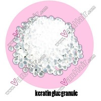 900g Italian keratin glue granule beads for human hair extensions transparent