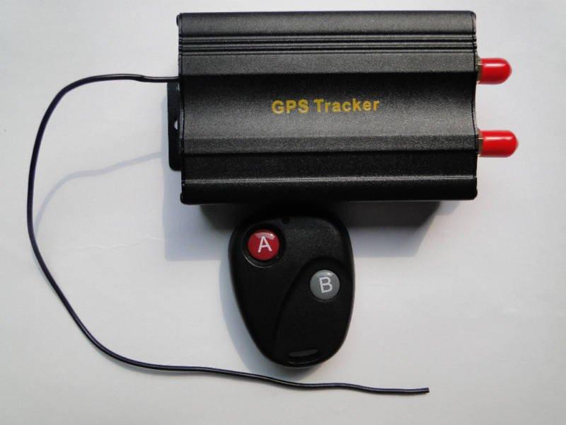 Free shipping OEM RealTime Vehicle Car GPS Tracker Device Alarm Sysem TK103B+Remote Countrol Google Map Link+Free PC Software(China (Mainland))