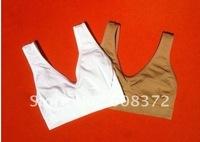 Free Shipping ! Ahh Bra with Retail Box/ Microfiber Pullover Bra Body Shaper /Black/white/skin-colored/S M L XL XXL XXX  20/pcs