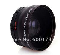 55mm 0.45x Wide Angle Lens For D3100 D7000 D3000 D90
