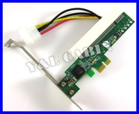 PCI CardBus Device to PCI-E PCI Express 1X Card Motherboard Adapter Converter, Free Shipping, Brand New, Retail/Wholesales