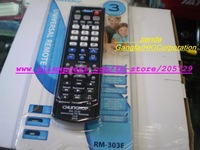 Free Shipping CHUNGHOP RM-303E three-in-one universal appliance remote control (Control TV/VCD/DVD )