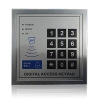 Cheap access control system with RFID keypad card reader