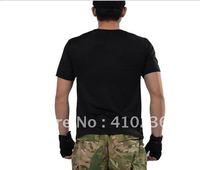 Free Shipping New Arrival Summer TD Short Sleeves BLACKHAWK  T-shirt  M16T T-Shirt black