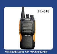 Waterproof handheld two way radio HYT TC-610 VHF 136-174MHz Walkie talkie DHL Free Shipping