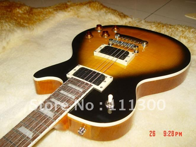 Wholesale Newest Custom Electric Guitar Honey Burst Best(China (Mainland))