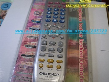 Free Shipping by EMS RM-836E seven-in-one universal appliance remote control for 1000 Brand sets (TV/VCR/SAT/CATV/VCD/DVD/LDCD )