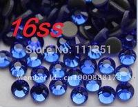 1440 Blue Hot Fix Flatback Glass Rhinestones 16SS 4mm