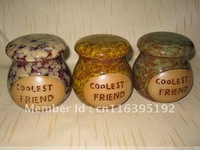 Wholesale Coolest Friend Multi-colors Ceramic Storage Jar, Ceramic Canister-AT1204