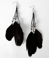 wholesale large extra black long big peacock Feather Earrings jewelry G518 Vintage Luxury Dangle free shipping 18 pairs in 1 lot