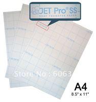 "100 Sheets 8.5"" x 11"" JET-PRO SS (SoftStretch) Heat transfer paper"