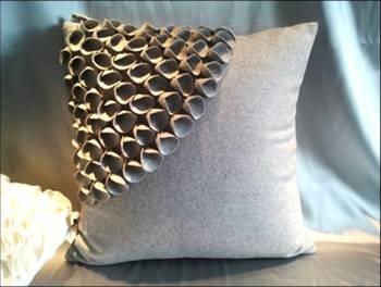2012 hot suede pillow designs Imitation cashmere cushion