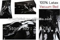 vaccum bed latex vaccum bed 100%nature Bondage Latex Vacuum Bed, vac-bed didn't include Vacuum bed stand (tube)