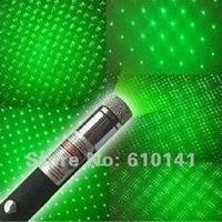Free shipping by hongkong post 200mw Green Laser Pointer green laser pen star pen multifunctional 200MW green laser pointer